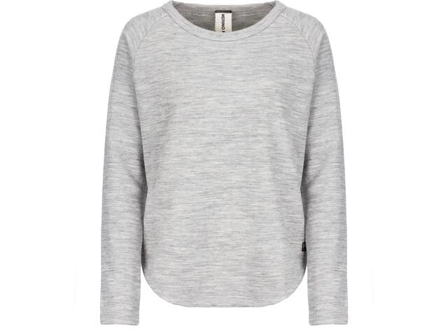 super.natural Knit Sweater Dame ash melange